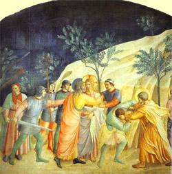 Arrestation de Jésus dans le Jardin de Gethsémani