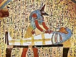 Anubis le passeur d'âme en Egypte antique