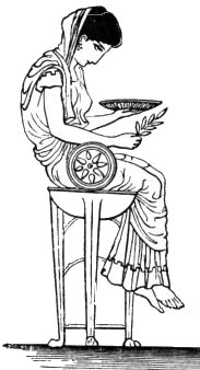 La pythie de Delphes et les signes