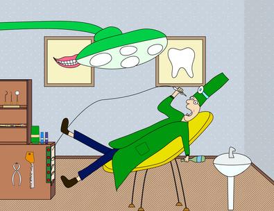 l 39 intuition peut vous aider chez le dentiste. Black Bedroom Furniture Sets. Home Design Ideas